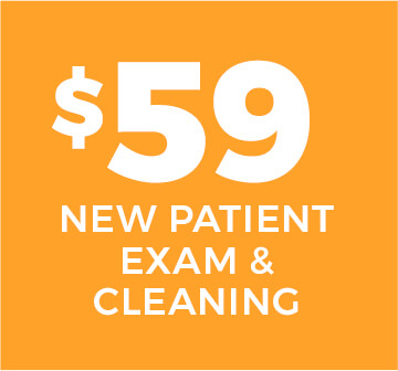 $59 New Patient Exam & Cleaning
